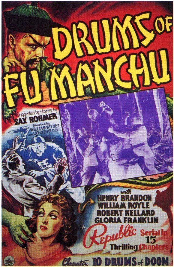 Drums of Fu Manchu Drums of Fu Manchu Movie Posters From Movie Poster Shop