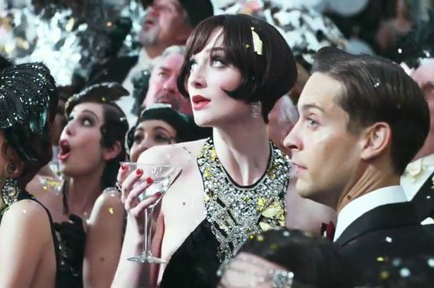 Dry Martini (1928 film) movie scenes I want to make a bib style necklace that is even 1 1000th as fabulous as this dress The Great Gatsby The Great Gatsby Movie Scene Thegreatgatsby