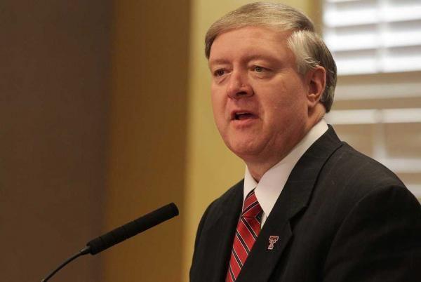 Duane Nellis President Nellis aims to grow better Texas Tech through