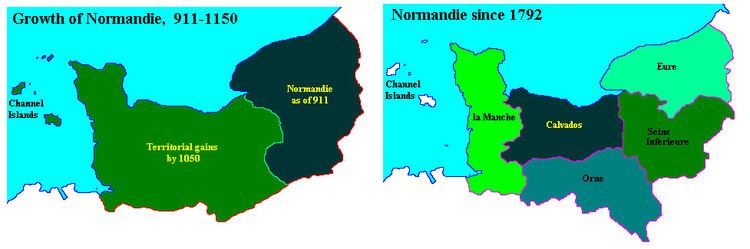 Duchy of Normandy WHKMLA History of Normandy