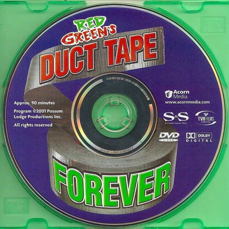 Duct Tape Forever COVERSBOXSK Red Greens Duct Tape Forever 2001 high