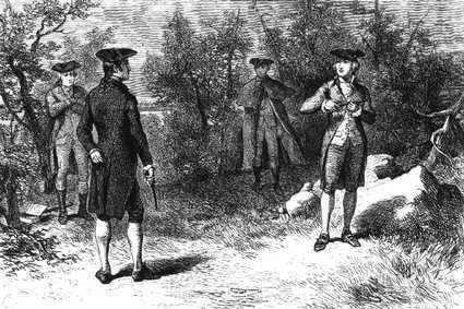 Duel Dueling History An Affair of Honor The Art of Manliness