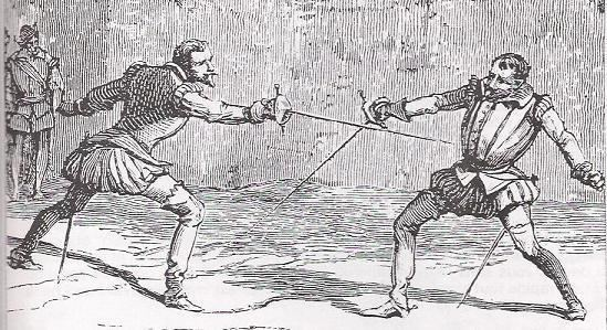 Duel About dueling in France For the Future of Fencing