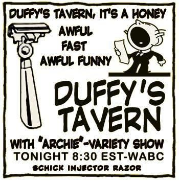 Duffy's Tavern Free Classic Radio Shows Duffy39s Tavern