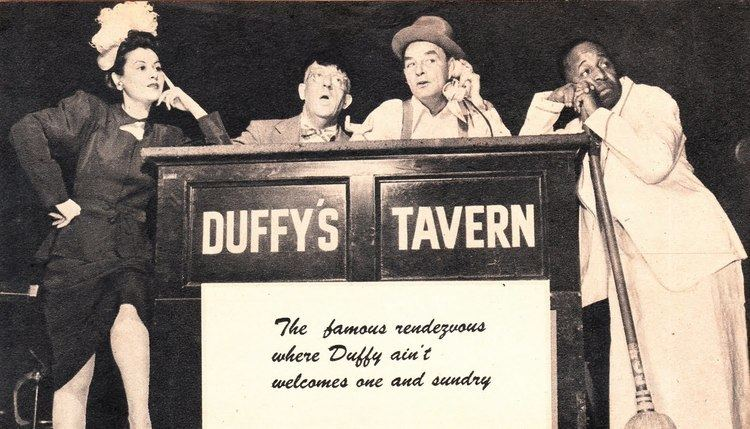 Duffy's Tavern The First Bar Sitcom Listening to DUFFY39S TAVERN THAT39S