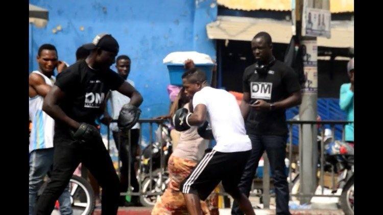 Duke Micah Duke Micah Street Workout ahead of his WBO Africa Bantamweight Title