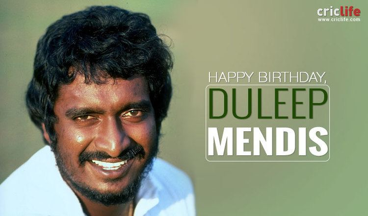 Duleep Mendis Nine facts about the Sri Lankan heavyweight Cricket