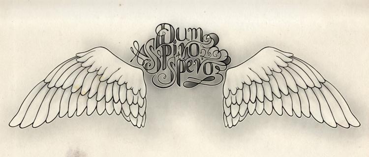 Dum spiro spero hoseoppy blog Tattoo Design Dum Spiro Spero