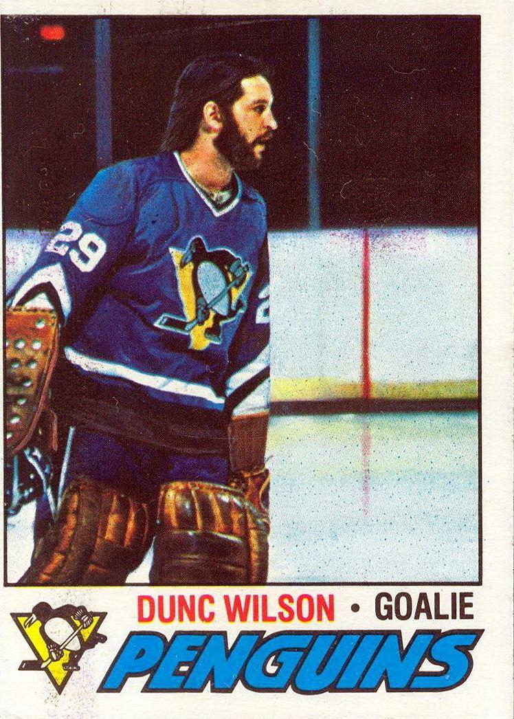 Dunc Wilson wwwpenguinshockeycardscomplayersduncwilson