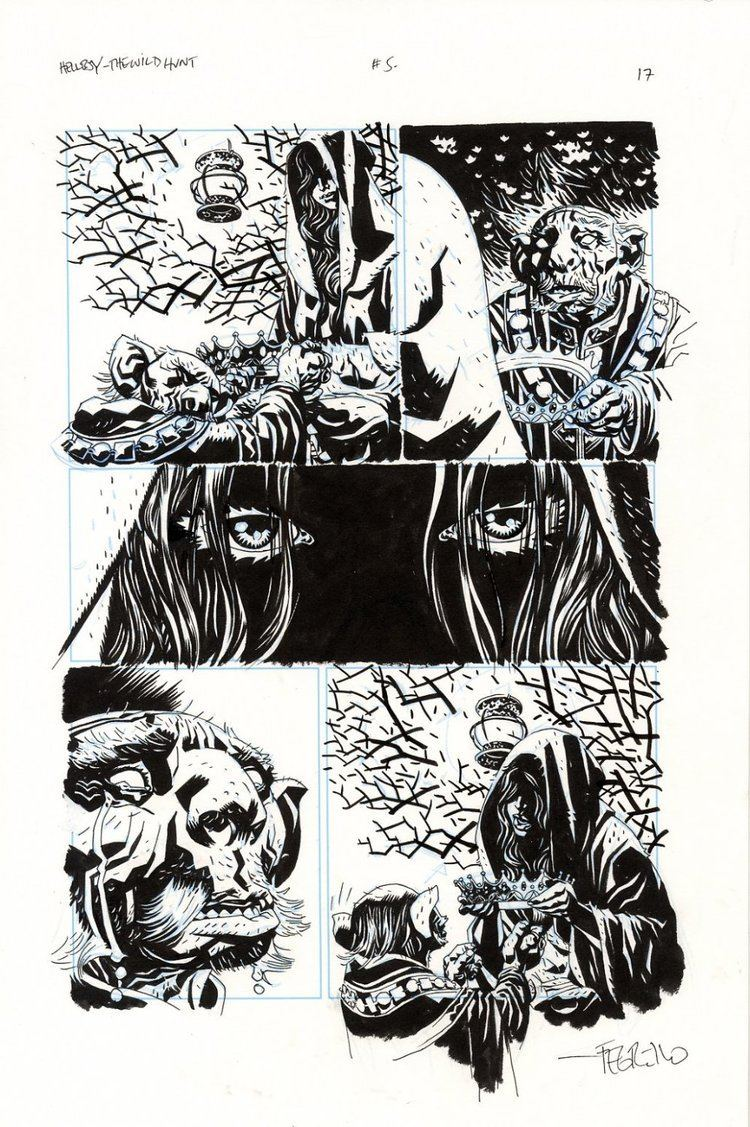 Duncan Fegredo Comic Art For Sale from Splash Page Comic Art Hellboy The