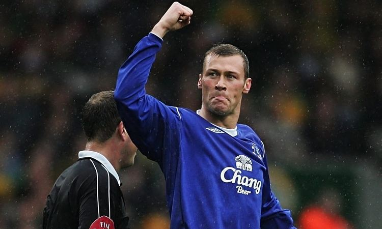 Duncan Ferguson The night Duncan Ferguson became the legend before he