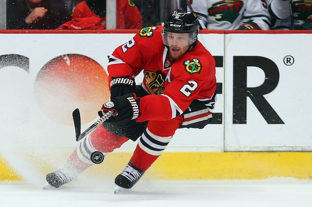 Duncan Keith Duncan Keith is doing the heavy lifting for the Blackhawks