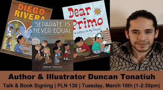 Duncan Tonatiuh Duncan Tonatiuh Children39s Literature Author Talks Pollak