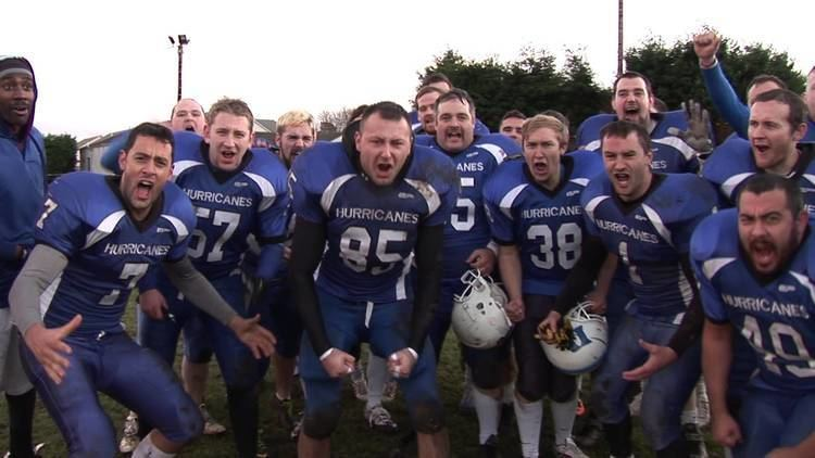 Dundee Hurricanes Dundee Hurricanes celebrate after Victory over Aberdeen Roughnecks