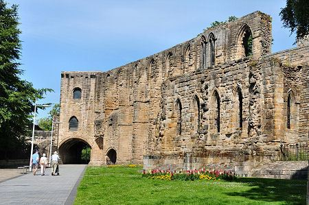 Dunfermline Palace Dunfermline Abbey amp Palace Feature Page on Undiscovered Scotland