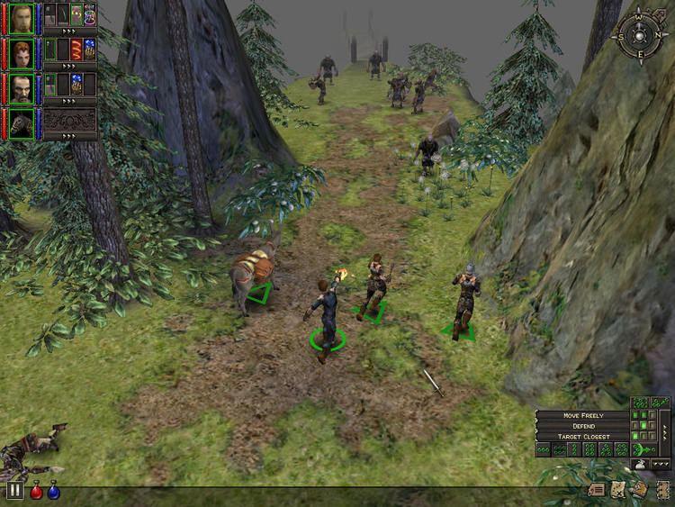 Dungeon Siege ActiveWin Dungeon Siege Preview Build Screenshots