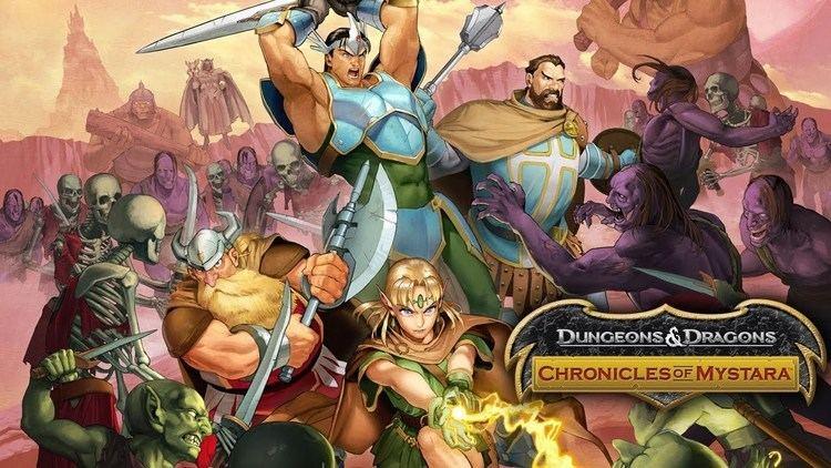 Dungeons & Dragons: Chronicles of Mystara Dungeons amp Dragons Chronicles of Mystara Reveal Trailer YouTube