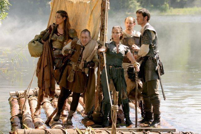 Dungeons %26 Dragons: Wrath of the Dragon God movie scenes Left to Right Lux Nim Ormaline Dorian and Berek