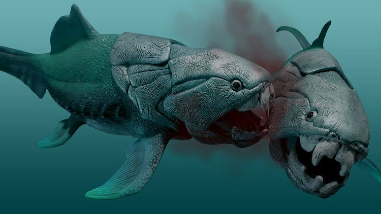 Dunkleosteus The nasty eating habits of prehistory39s meanest fish fossils