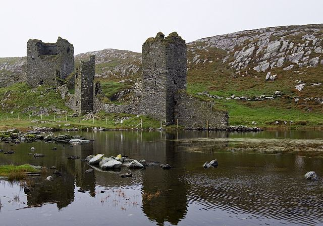 Dunlough Castle Castles of Munster Dunlough or Three Mike Searle ccbysa20