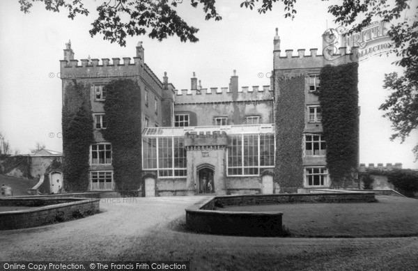 Dunraven Castle Southerndown Dunraven Castle From Drive c1955 Francis Frith