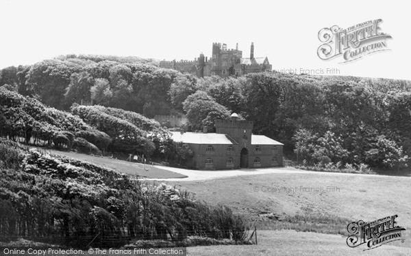 Dunraven Castle Southerndown Dunraven Castle c1955 Francis Frith