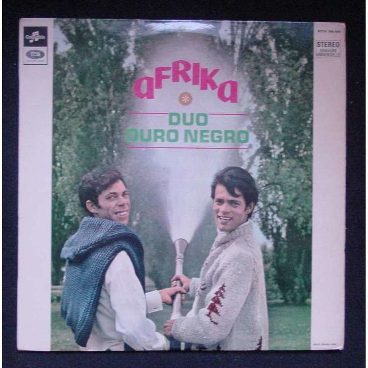 Duo Ouro Negro Afrika by Duo Ouro Negro LP with themroc Ref115897199