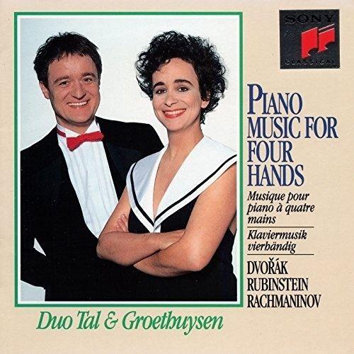 Duo Tal & Groethuysen Dvork Rubinstein Rachmaninov Piano Music for 4 Hands Duo Tal