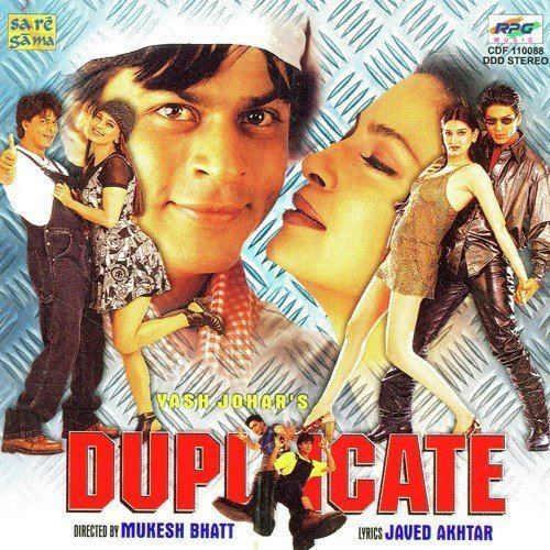 Duplicate (1998 film) Duplicate Duplicate songs Hindi Album Duplicate 1998 Saavncom