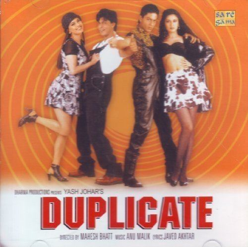 Duplicate (Audio Cd/Bollywood Film Soundtrack/Hindi Songs/Indian  Music/Foreign Music/Shahrukh Khan) by Alka Yagnik, Shankar Mahadevan, Kumar  Sanu, Kavita Krishnamurthy, Instrumental, (2006-09-01) - Amazon.com Music