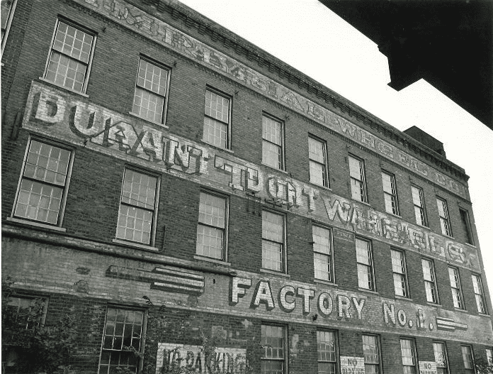 Durant-Dort Carriage Company Office A look back at the history of the DurantDort Carriage Company