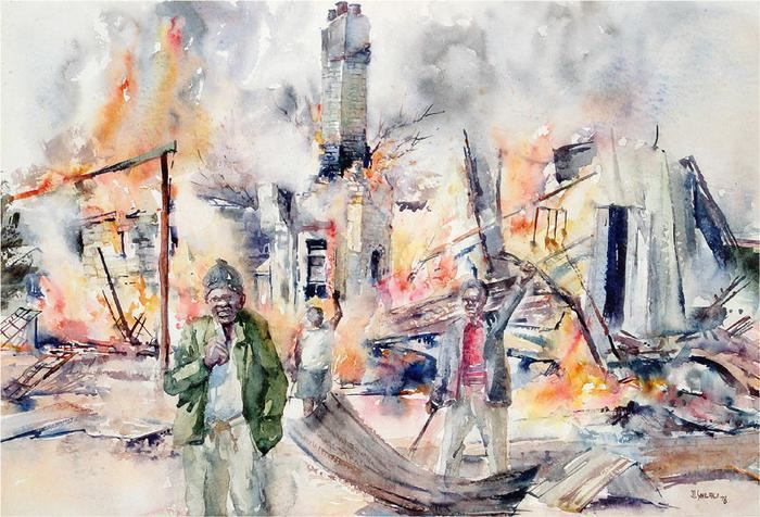 Durant Sihlali Pimville rent offices on fire riots Soweto 1976 Revisions