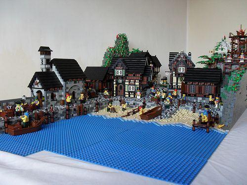 Durnovaria The Port Of Durnovaria A LEGO creation by Luke Watkins MOCpagescom