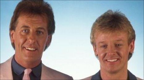 Dustin Gee Les Dennis amp Dusting Gee One left this double act with