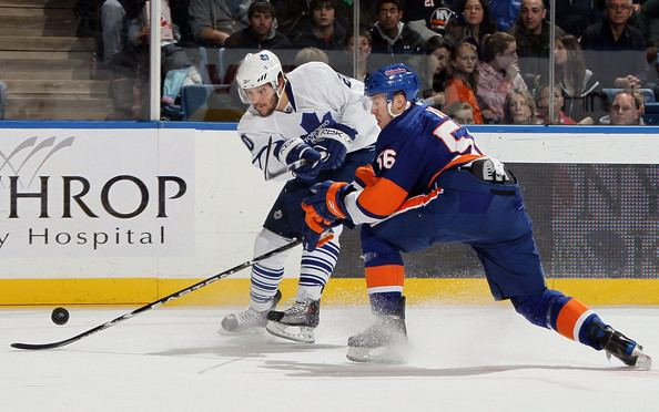Dustin Kohn Dustin Kohn Pictures Toronto Maple Leafs v New York