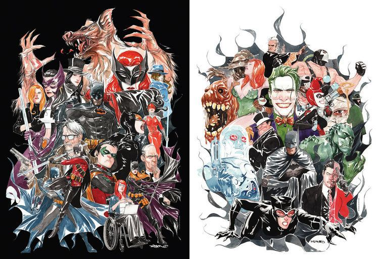 Dustin Nguyen (artist) Black and White and some color by duss005 on DeviantArt
