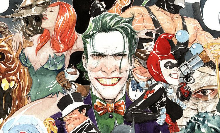 Dustin Nguyen (artist) Gotham Girls Podcast Gotham City Siren themed art by