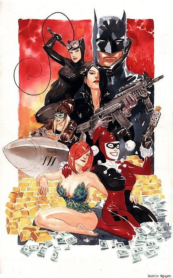 Dustin Nguyen (artist) Why Dustin Nguyen is Too Awesome Really Art