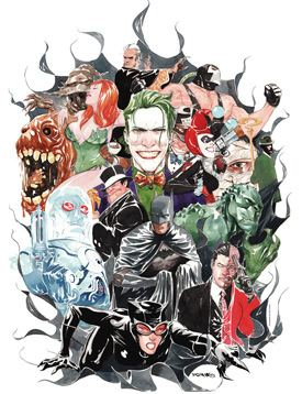 Dustin Nguyen (artist) Musings from the Multiverse Li39l Gotham North by