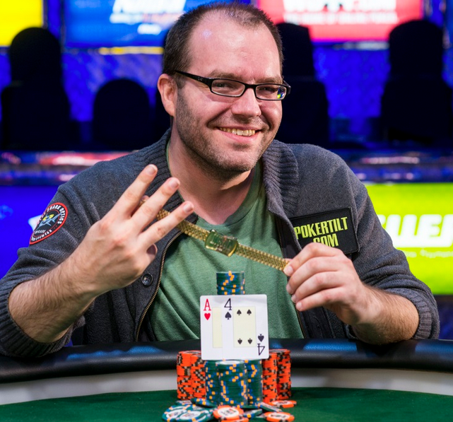 Dutch Boyd 2014 WSOP Dutch Boyd Wins Bracelet Number Three