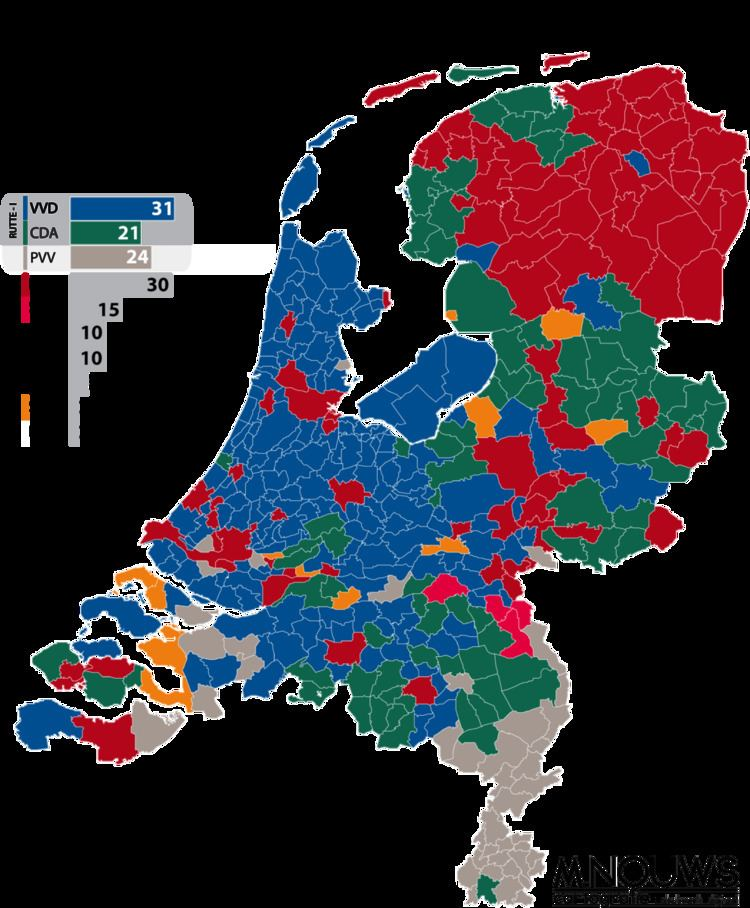 Dutch general election, 2010