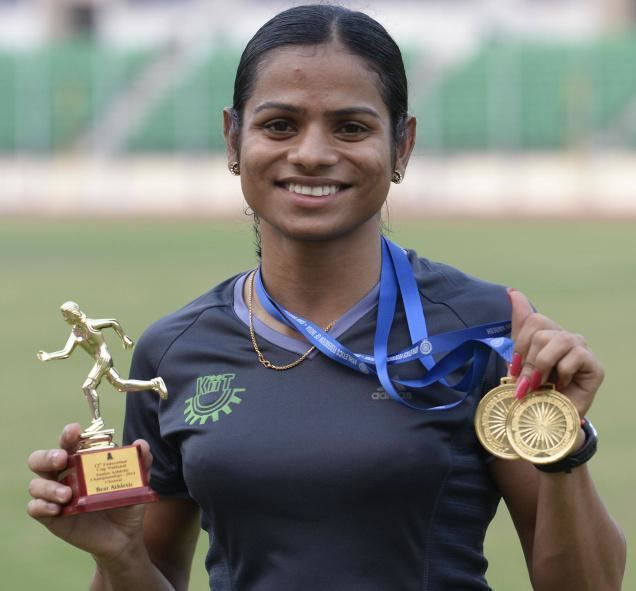 Dutee Chand We don39t know yet if Dutee Chand has changed sports