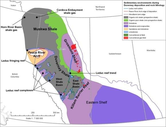 Duvernay Formation The Duvernay shale is a colossal oil and gas play MININGcom