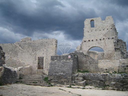 Dvigrad Istria from smrikve Dvigrad Duecastelli Medieval Istrian Pompei