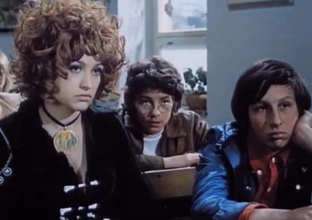 Dívka na koštěti Fotogalerie Petra ernock a Jan Kraus ve filmu Dvka na kotti
