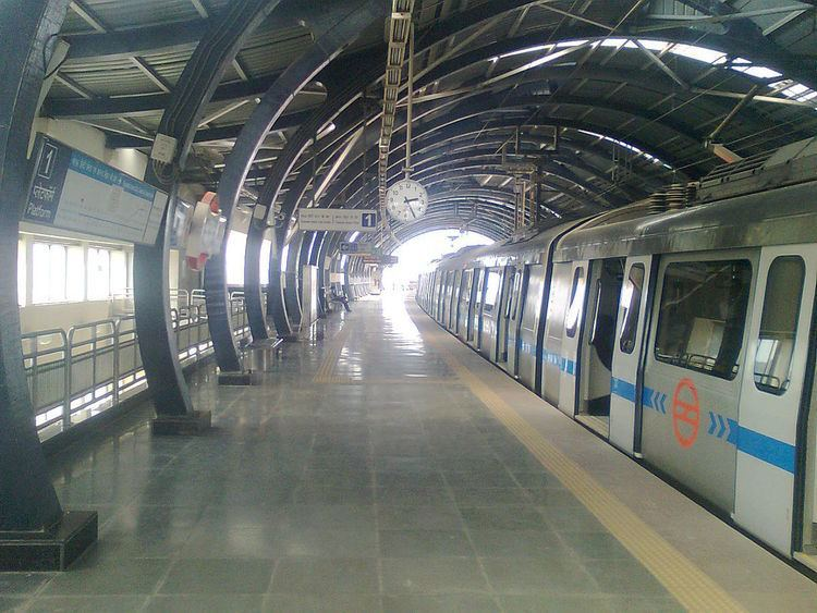 Dwarka Sector 14 metro station