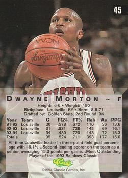 Dwayne Morton Dwayne Morton Gallery The Trading Card Database