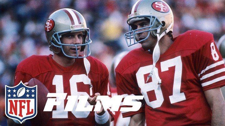 Dwight Clark 4 The Catch Joe Montana to Dwight Clark NFL Films Top 10
