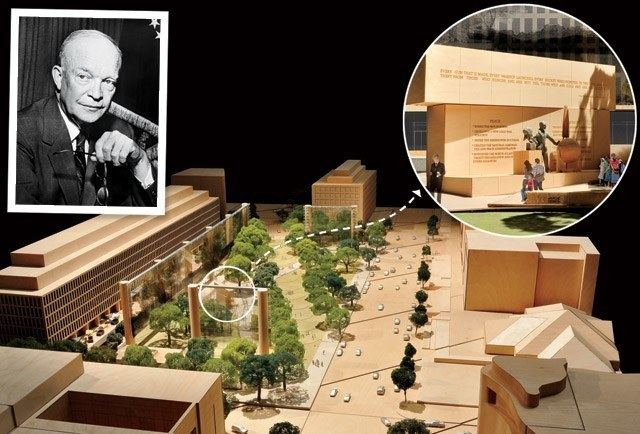 Dwight D. Eisenhower Memorial The Conflict Over DC39s Dwight D Eisenhower Memorial Vanity Fair