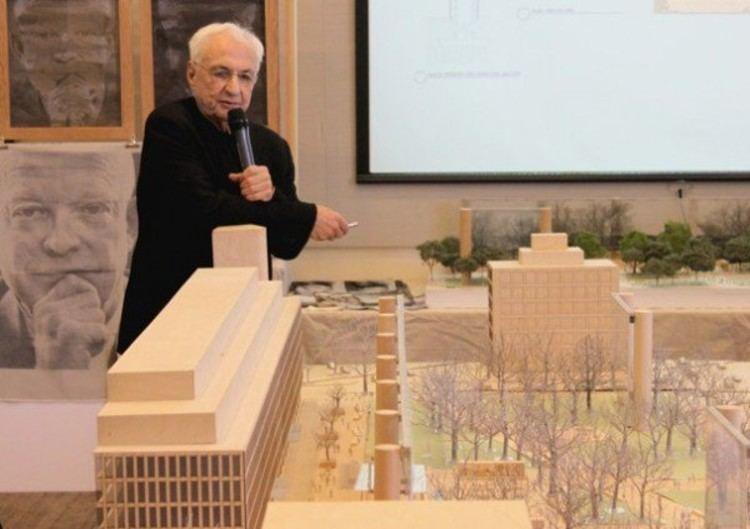 Dwight D. Eisenhower Memorial Update Dwight D Eisenhower Memorial Frank Gehry ArchDaily